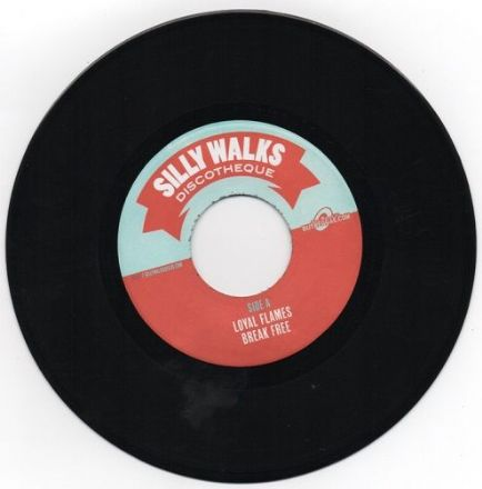 Brighter Days riddim: Loyal Flames - Break Free / Fiji & J Boog - Lonely Days (Silly Walks / Buyreggae) EU 7""